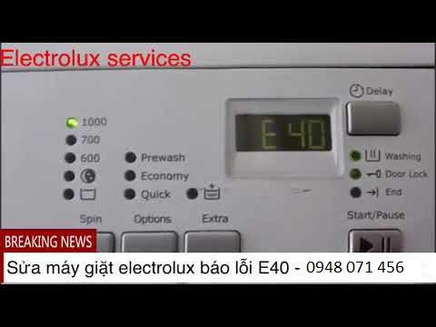 may giat eletrolux loi E40
