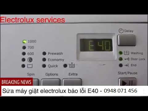 may giat eletrolux loi E40