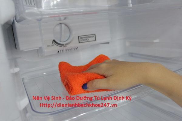 vệ sinh , bảo dưỡng tủ lạnh