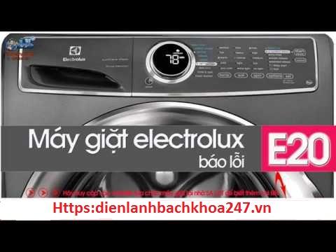 may giat elecrolux bao loi e20