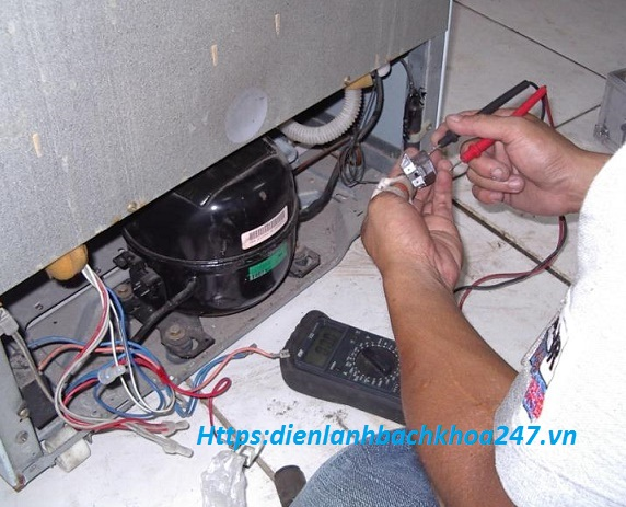 kiểm tra block tủ lạnh khi tủ lạnh có chạy nhưng không lạnh