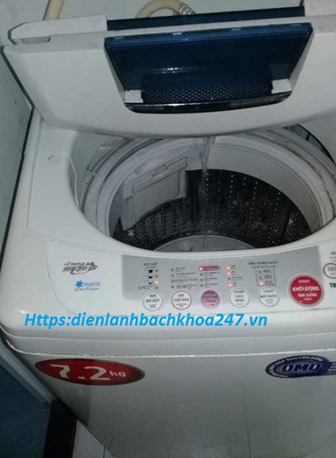 máy giặt cấp nước liên tục không ngừng