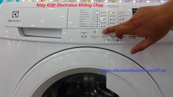 may-giat-electrolux-khong -chay